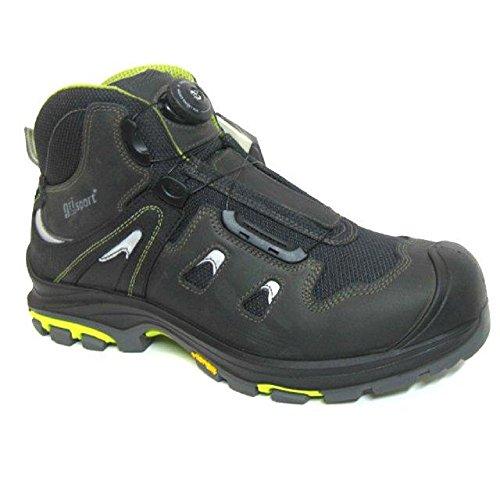 Grisport grs986–47Boa estilo botas de seguridad, tamaño: 47, negro (Pack de 2)