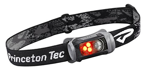 - Princeton Tec Remix LED Headlamp (150 Lumens, Black w/Red LED's)