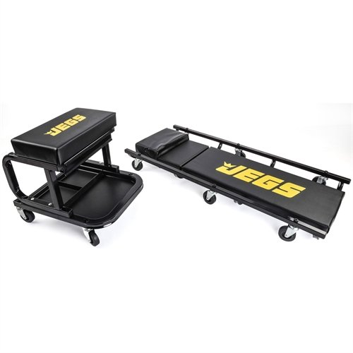 JEGS 81150 Creeper & Mechanic Seat Set by JEGS (Image #1)