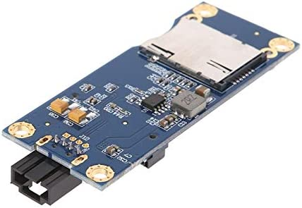 Cable Length: 80MM Computer Cables Mini PCI-E to USB with SIM Card Adapter for WWAN//LTE Module-Horizontal Connector