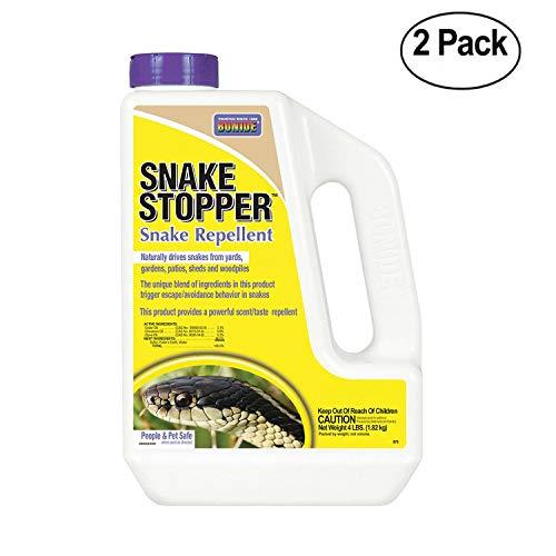 Bonide 875 Snake Stopper, 4-Pound - Pack Of 2