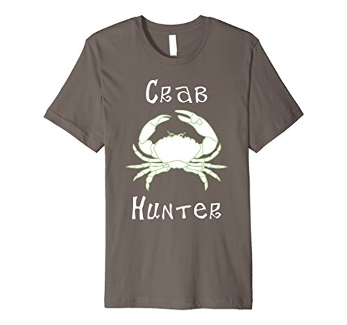 Mens Premium Crab Hunter Crab Fisherman Crabbing T-Shirt 2XL (Funny Crab)