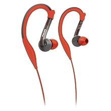 Philips ActionFit Sports Earhook Headphones SHQ3200/28, Orange and Grey
