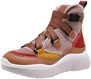 LuckyGirls Zapatos para Mujer Retro Zapatillas de Correr Calzado Deportivo de Running Bambas Zapatillas con Suelas Gruesas con Hebilla: Amazon.es: Deportes ...