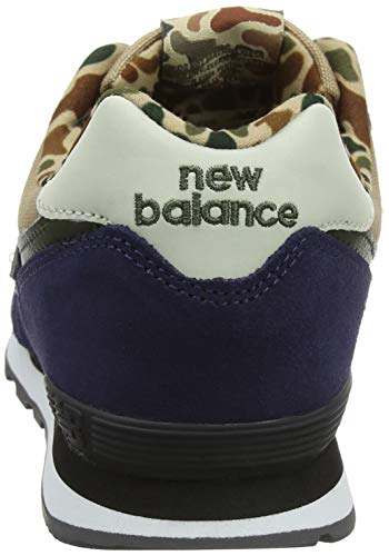 Pigment Blue Trainers 574v2 Balance Unisex Kids' New Hemp Hny Xw1YSAqxW