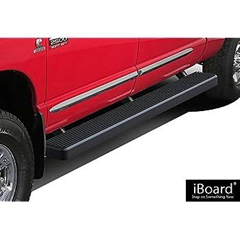 "4/"" iBoard Running Boards Nerf Bars Fit 06-08 Dodge Ram 1500//2500//3500 Mega Cab"