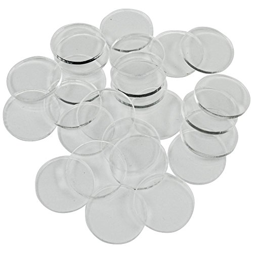 - Litko Game Accessories Clear Miniature Bases, Circular .75 Inch, 1.5mm Clear (25)