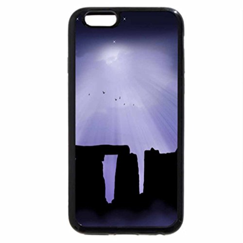 iPhone 6S Case, iPhone 6 Case (Black & White) - WINTER SOLSTICE