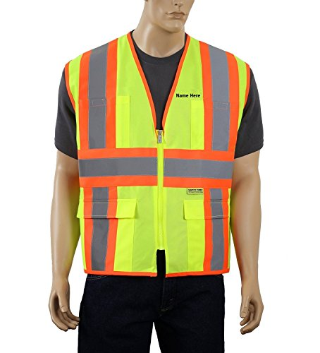 Hi Viz Vest With Led Lights in US - 6