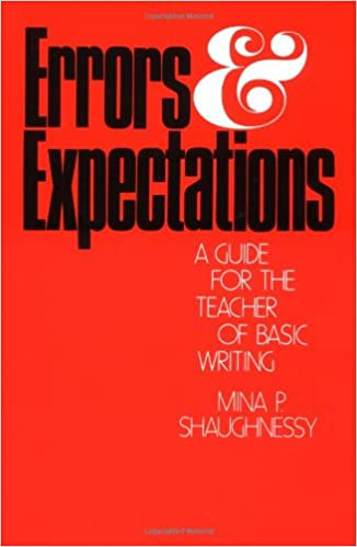 Amazon errors and expectations a guide for the teacher of errors and expectations a guide for the teacher of basic writing oxford university press paperback fandeluxe