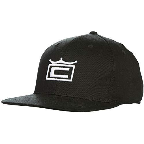Cobra Golf 2019 Tour Crown Snapback Hat (Black)