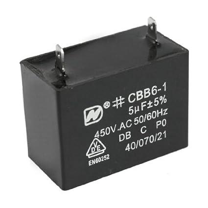 CBB61 CONDENSATORE PER VENTOLE MOTORI 3,5 uF 450Vac