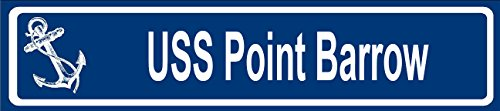 Any and All Graphics USS Point Barrow Navy Ship Name 6
