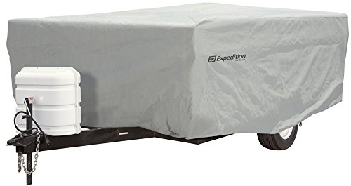 """Price comparison product image Expedition by Eevelle Pop Up Trailer Cover - fits 10'-12' Long Trailers - 156""""L x 85""""W x 42""""H"""