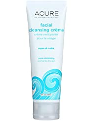 Acure Facial Cleansing Creme - Argan Oil and Mint - 4 FL oz