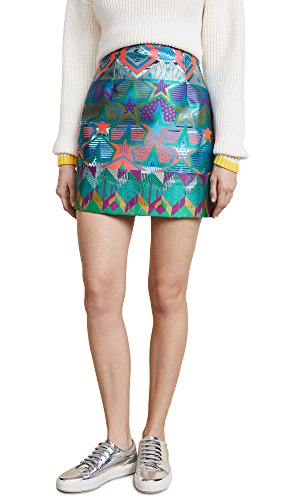 (Cynthia Rowley Women's Monte Carlo Brocade Mini Skirt)