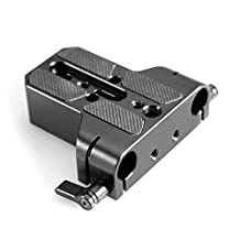 SmallRig Camera Base Plate with Rod Rail Clamp for Sony FS7, Sony A7 Series, Canon C100/c300/c500 - 1674