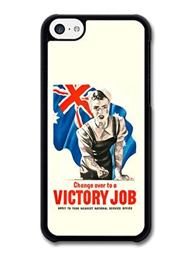 Victory Job Cool Tattoo Retro Propaganda case for iPhone 5C
