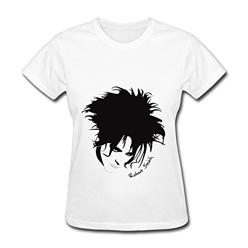 Robert Smith The Cure Tour 2016 Album Womens White T Shirt