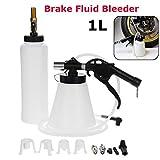 Auzan 1L Air Brake Bleeder Kit Pneumatic Clutch Vacuum Oil Bleeding Extractor Fill Bottle