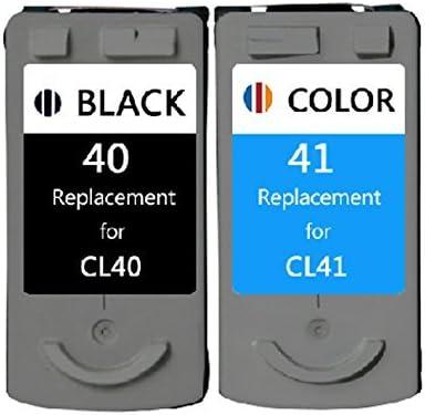 inkmate remanufacturados cartuchos de tinta de repuesto para Canon PG40 0615b002 CL41 0617b002 (1 negro, 1 color, 2 unidades): Amazon.es: Oficina y papelería