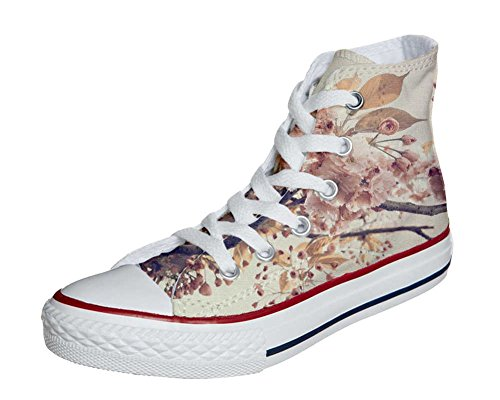 mys CONVERSE Personalizzate All Star Sneaker unisex (Scarpa artigianale) Autumn Texture