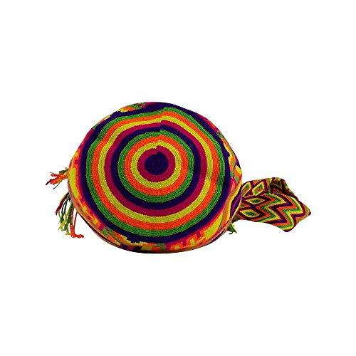 sinuana , Borsa Messenger  Uomo multicolore Bunt 30 x 30 x 20 cm