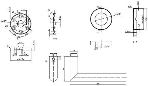 Acero Inoxidable Pulido Picaporte para Puerta Designer Levers 8816PS Eros dise/ño Redondo y Moderno