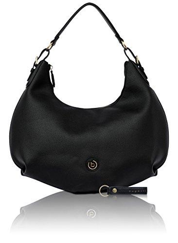 élégant femmes sac à similicuir Passione main bugatti sac pour Hobo à noir bandoulière 86vqxnFH
