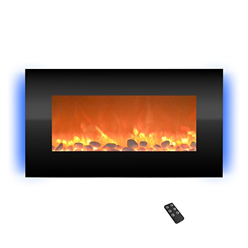 Cheap Northwest 80-BL31-2001 Electric Fireplace 31 inch Black Black Friday & Cyber Monday 2019