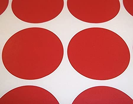 10mm Squares 10 x 20mm Rectangles Colour Code Dots Price Stickers Sticky Label