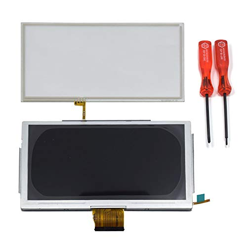 TOMSIN Replacement LCD Display & Touch Screen Glass Digitizer Repair Part for Nintendo Wii U GamePad ()