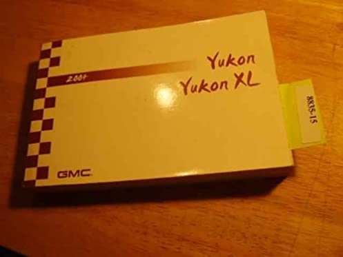 2004 gmc yukon xl owners manual gmc amazon com books rh amazon com 2003 GMC Yukon XL 2014 gmc yukon xl owners manual