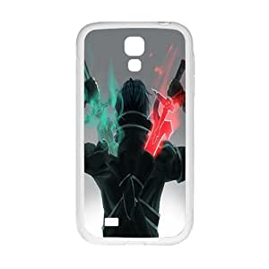 chen-shop design Green and red sword warrior Cell Phone Case for Samsung Galaxy S4 high XXXX