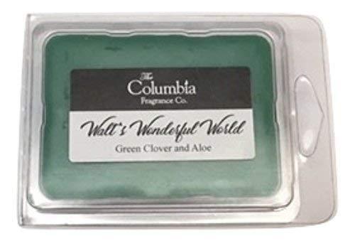 WALTS WONDERFUL WORLD (Green Clover and Aloe) breakway melts - Green Clover Aloe