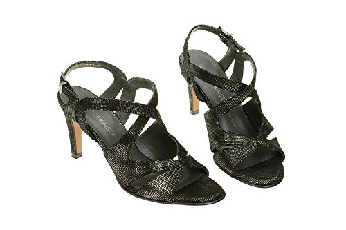 Sandale Noir En Padora Fermeture Silber T Femme Peter Kaiser Schwarz z7qEqHw