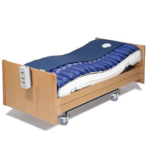 41OiASZm7yL. SS500 Este sistema previene y trata las úlceras por presión, gracias a la alternancia de las presiones que evita una compresión vascular prolongada y además puede utilizarse en tratamientos paliativos (del dolor) cuando esté prescrito por el médico.