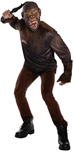 [Rubie's Costume Men's Dawn Planet Of The Apes Adult Caesar, Multicolor, Large] (Planet Of The Apes Costumes)