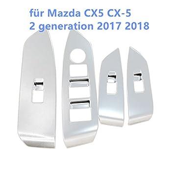 ABS mate Faro interior decorativo de coche 1pcs para CX5 CX-5 segunda generaci/ón 2017 2018
