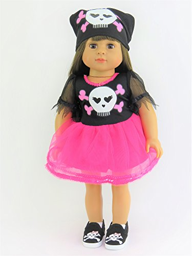 Skull and Bone Pirate Halloween Costume | Fits 18