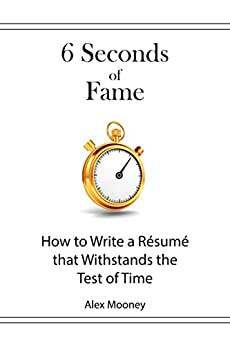 Seconds Fame Write Resume Withstands ebook product image