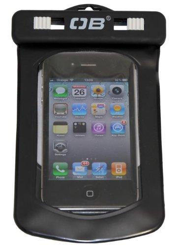 OverBoard Waterproof Phone Case, Black, Small