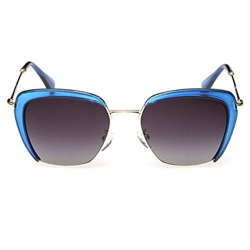 Trendy Universal XGLASSMAKER Sunglasses Soleil Polarized Polarisées Blue Sunglasses De Lunettes rqXwTXI