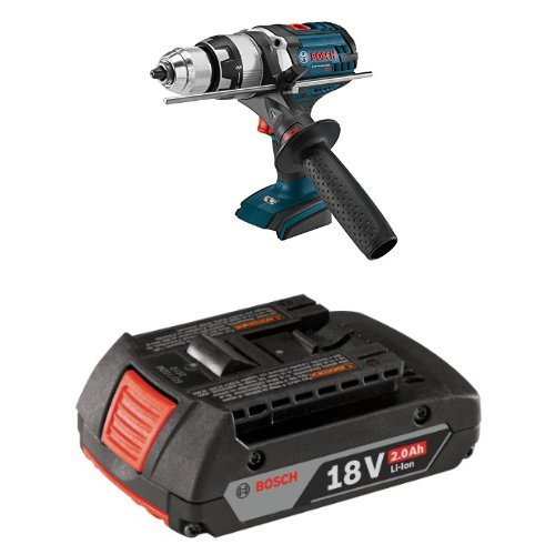 Bosch DDH181XB Bare-Tool 18V Brute Tough 1/2'' Drill/Driver with 2.0 AH battery by Bosch