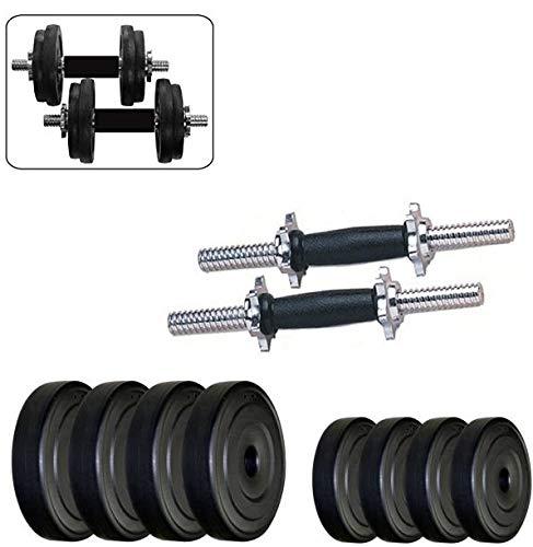 V22 Home Gym Fitness 8 KG PVC Dumbbell Set Combo