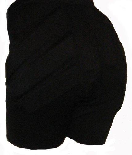 Ice Skating Padded Shorts by Silver Lining-SLshort (Black, Adult Medium)