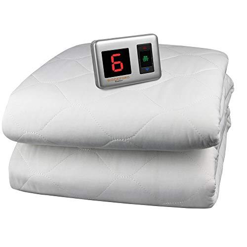 blankets heated mattress pad
