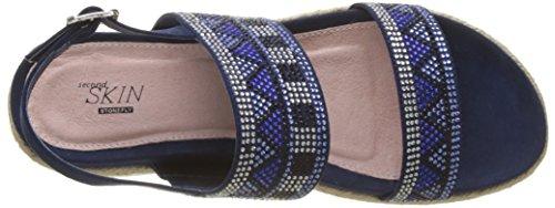 Sandali Goa Blu S Stonefly Con Alla Blue Cinturino Caviglia 3 334 103 Avril Donna 10 strong xxq7Yg