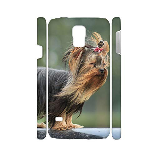 Tyboo Rigid Plastic Phone Cases Design Yorkshire Terrier Dog for Galaxy S5 for Women Character ()