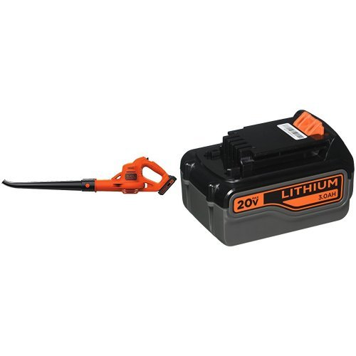 BLACK+DECKER LSW221 Cordless Sweeper + 20-Volt Battery Pack